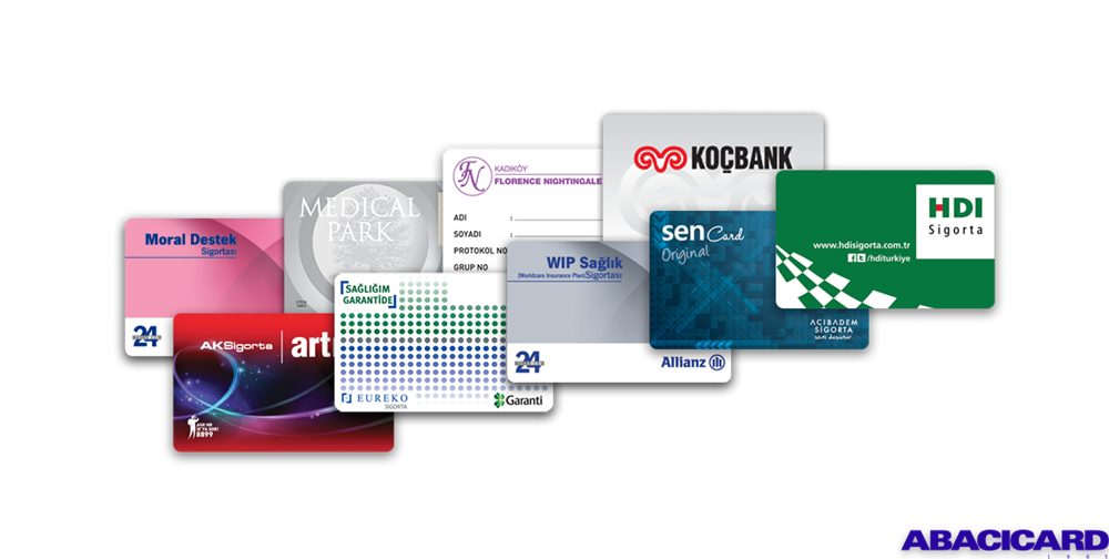 Bank and Insurance Cards