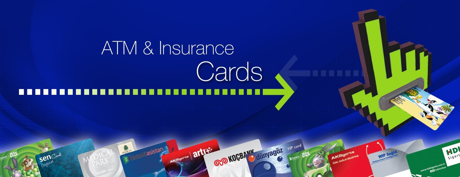 ATM & Insurance Cards